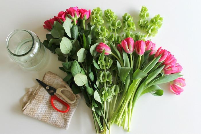 ขายส่งดอกไม้สด